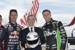 Jamie Whincup, Triple Eight Race Engineering Holden ve Mark Winterbottom, Prodrive Racing Australia Ford ve John Borghetti, Virgin Australia Group CEO