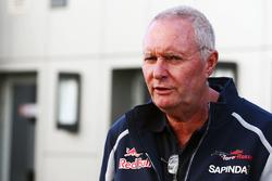Джон Бут, гоночный директор Scuderia Toro Rosso