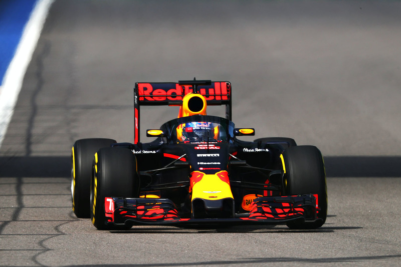 Aeroscreen bei Red Bull Racing