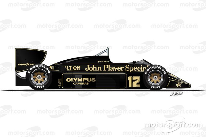 Lotus 97T de Ayrton Senna (1985)