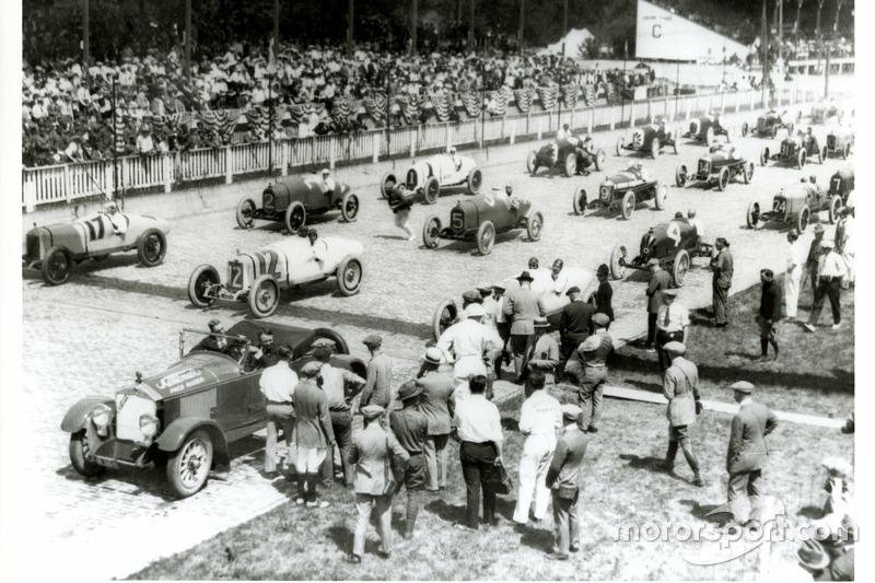 Startaufstellung 1922