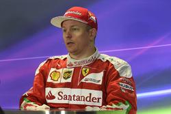Press conference: third place Kimi Raikkonen, Ferrari