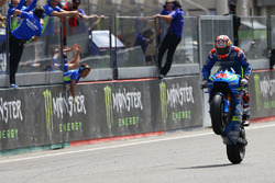Maverick Viñales, Team Suzuki MotoGP takes third place
