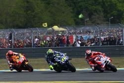 Андреа Довіціозо, Ducati Team, Валентино Россі, Yamaha Factory Racing, Марк Маркес, Repsol Honda Team