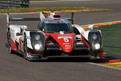 #5 Toyota Racing Toyota TS050 Hybrid: Anthony Davidson, Sテゥbastien Buemi, Kazuki Nakajima