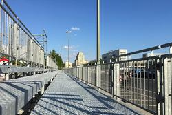 La pista dell'ePrix di Berlino in contruzione