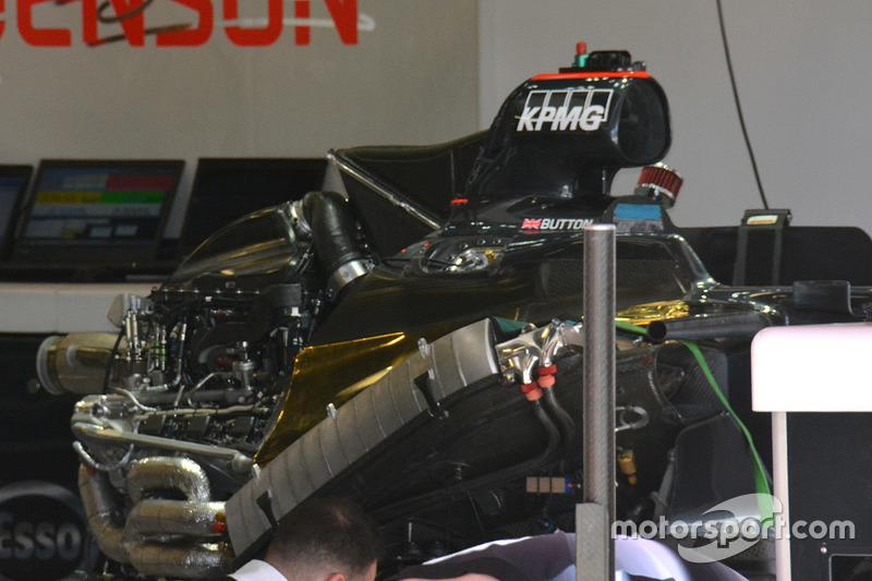 McLaren: Blick unter die Motorhaube