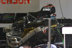 McLaren MP4-31, l'impianto di alimentazione rivisto