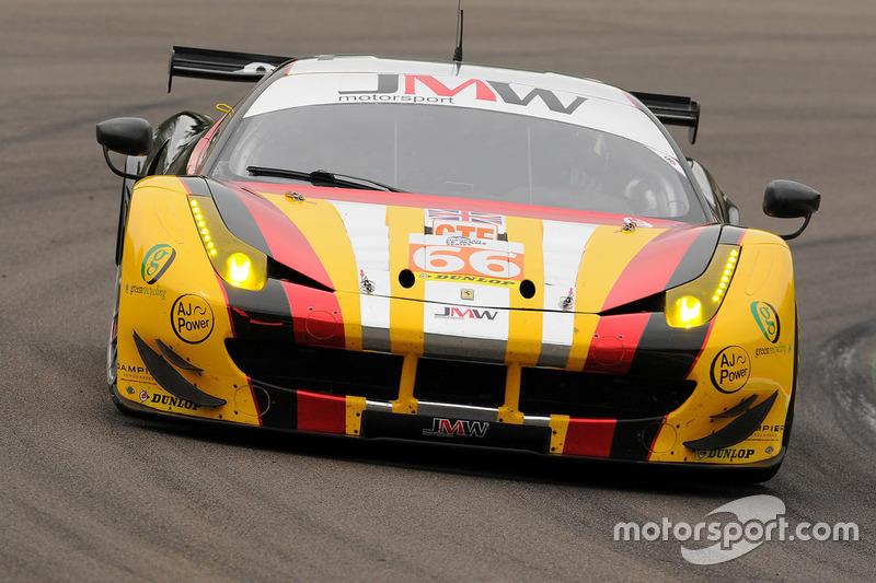 Nachrücker (LMGTE Am): #66 JMW Motorsport, Ferrari F458 Italia