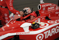 Race winner Scott Dixon, Chip Ganassi Racing celebrates