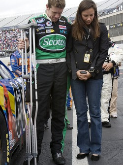 Carl Edwards and his wife Kate
