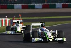 Rubens Barrichello, Brawn GP y Jenson Button, Brawn GP