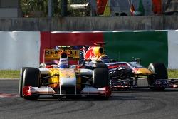 Romain Grosjean, Renault F1 Team, Mark Webber, Red Bull Racing