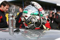 Le casque de Tom Kristensen, Audi Sport Team Abt Sportsline Audi A4 DTM