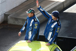 Driver Parade: #6 Ford Performance Racing: Steve Richards, Mark Winterbottom