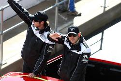 Driver Parade: #7 Jack Daniel's Racing: Todd Kelly, Rick Kelly