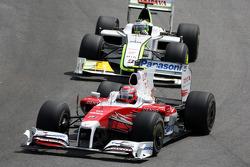 Камуї Кобаясі,, Toyota F1 Team, Дженсон Баттон, BrawnGP