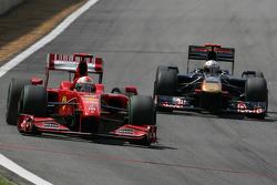 Giancarlo Fisichella, Scuderia Ferrari y Jaime Alguersuari, Scuderia Toro Rosso