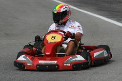 Go-kart event: Alex De Angelis