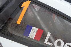 Citroen Total World Rally Team Citroen C4 of Sébastien Loeb detail