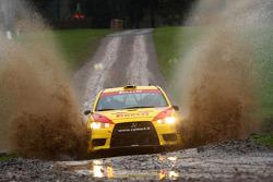 John Williams and George Gwynn, Pirelli Star Driver Mitsubishi Evo X