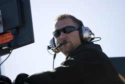 Mike Kelley, crew chief for the No. 6 Northern Tool + Equipment Ford