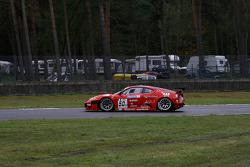 Spin for #50 AF Corse Ferrari F430: Toni Vilander, Gianmaria Bruni