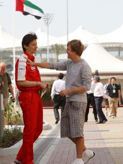 Massimo Rivola Scuderia Ferrari, Sebastian Vettel, Red Bull Racing