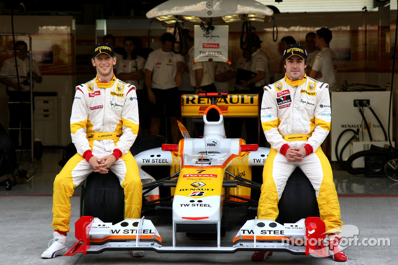 2009 - Renault: Romain Grosjean