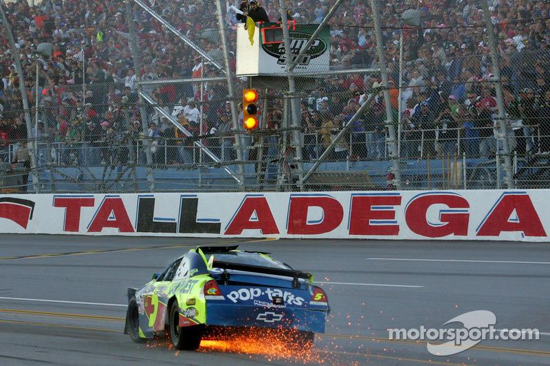 Herbst 2009: Crash von Mark Martin