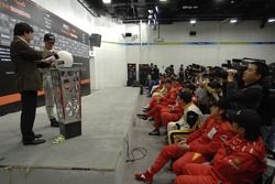 China drivers meeting