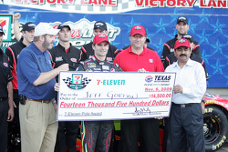 Pole presentation for the Dickies 500 at Texas Motor Speedway