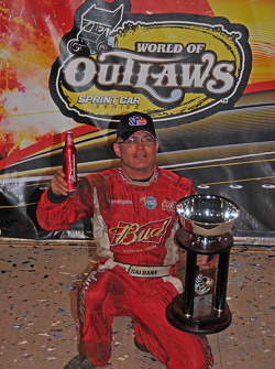 World of Outlaws season-finale winner Joey Saldana