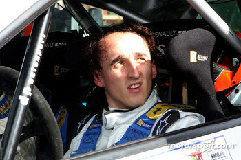 Kubica was seriously injured during a rally accident in early February this year