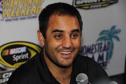 NASCAR championship contenders press conference in Coral Gables: Juan Pablo Montoya, Earnhardt Ganassi Racing Chevrolet