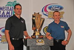 NASCAR championship contenders press conference in Coral Gables: Mark Martin, Hendrick Motorsports C
