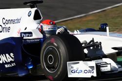 Alexander Rossi, test ediyorfor BMW Sauber team