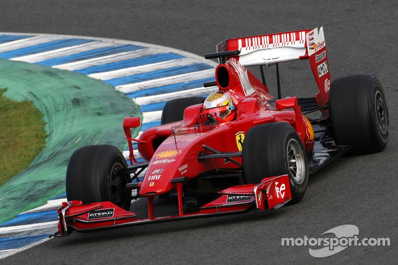 Jules Bianchi, Tests pour Scuderia Ferrari
