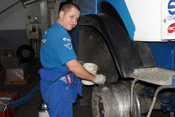 Truck preparation