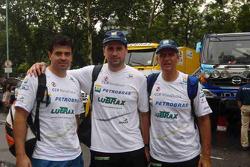 André De Azevedo, Jaromir Martinec et Maykel Justo