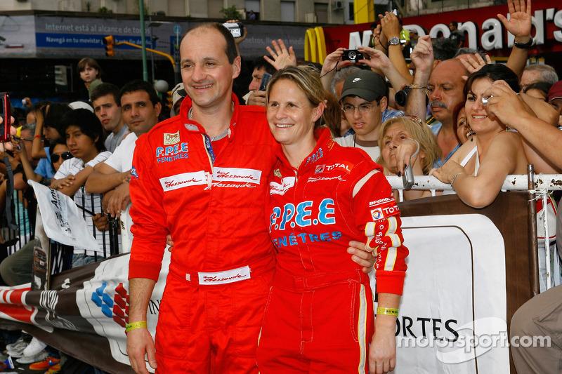 Isabelle Patissier y Thierry Delli-Zotti
