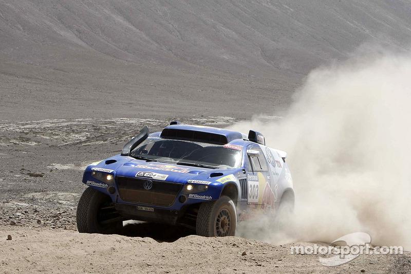 #303 Volkswagen: Carlos Sainz et Lucas Cruz Senra