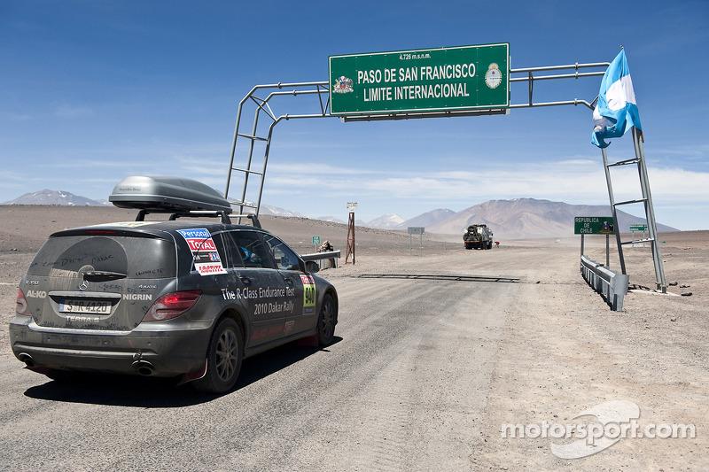 La frontière entre l'Argentine et le Chili