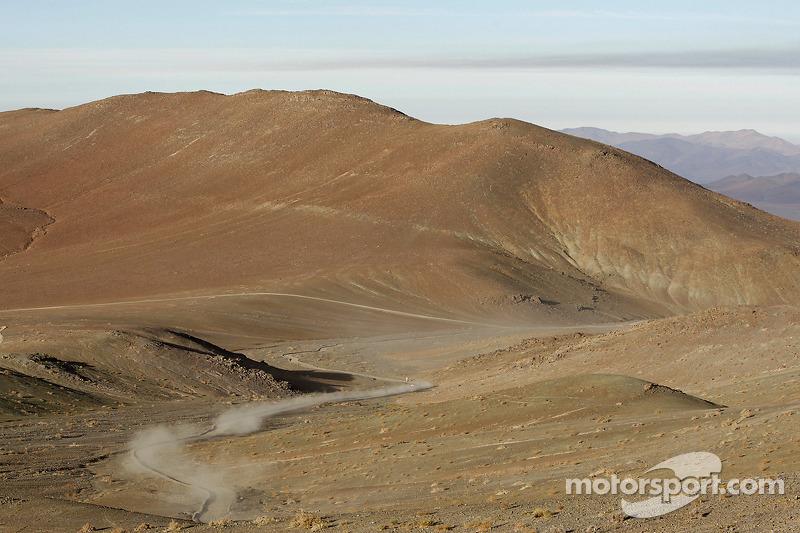 Une vue de la spéciale entre Antofagasta et Iquique
