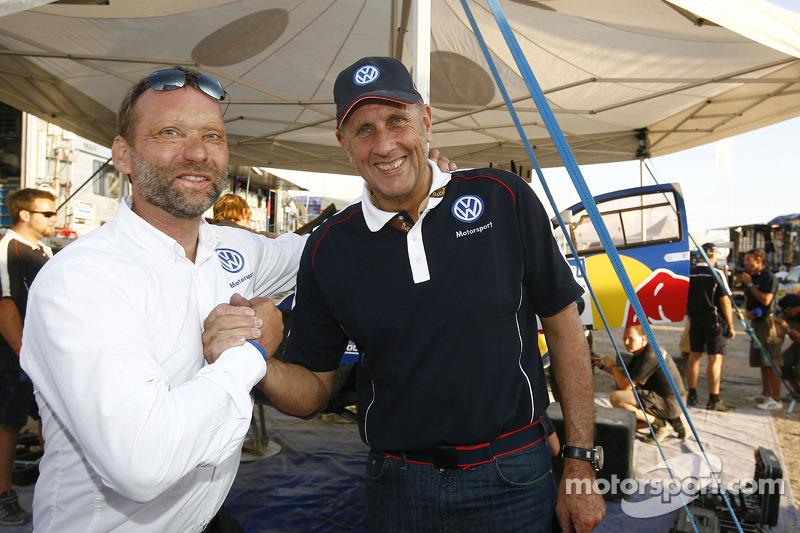 Kris Nissen et Hans Stuck