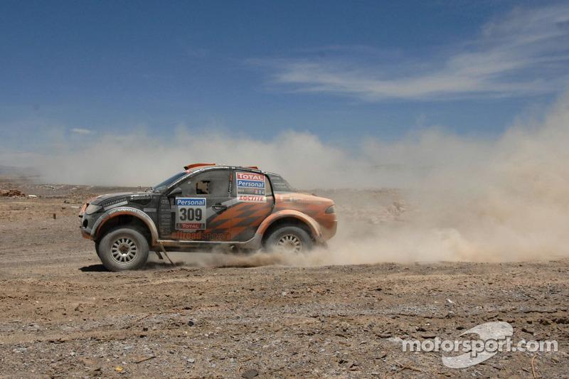 #309 Mitsubishi: Miroslav Zapletal et Tomas Ourednicek