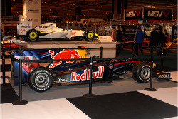 Red Bull with Brawn GP in the background