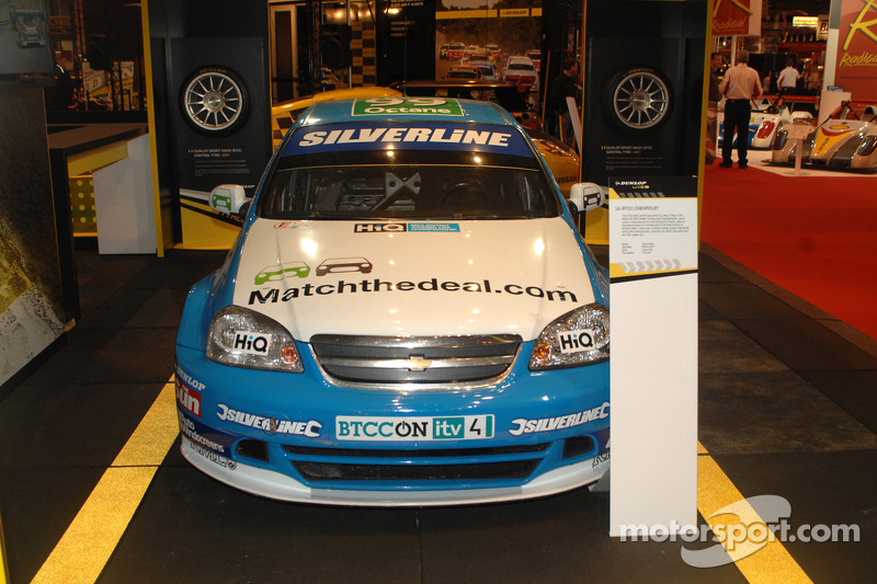 Jason Platos 2009 BTCC Silverline Lacetti