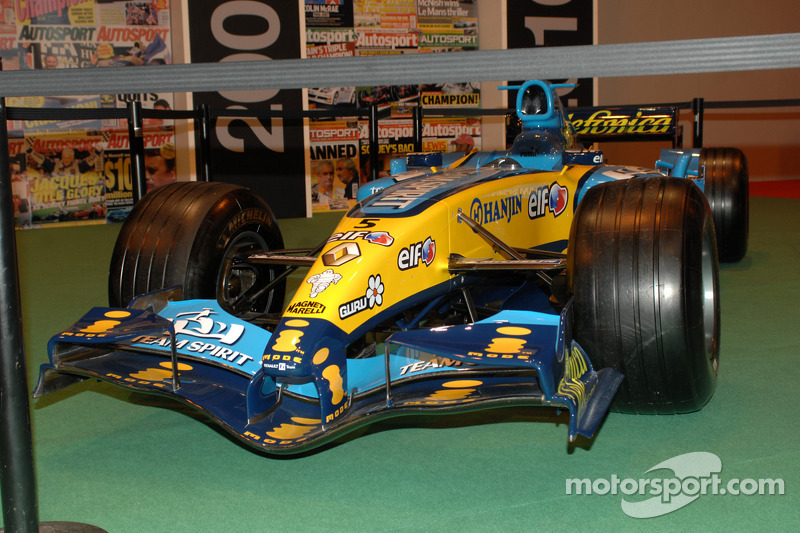 Renault F1 2005 victorieuse de Fernando Alonso