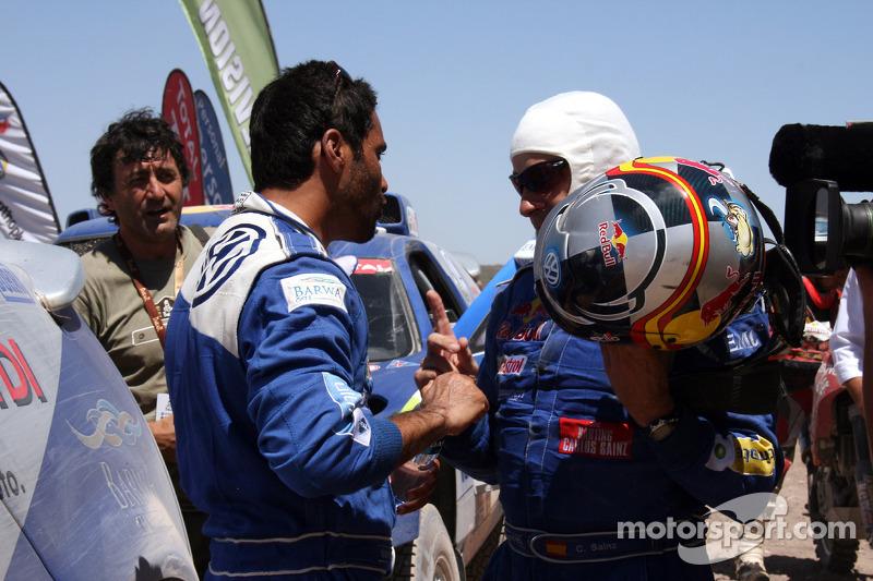 Nasser Al Attiyah et Carlos Sainz